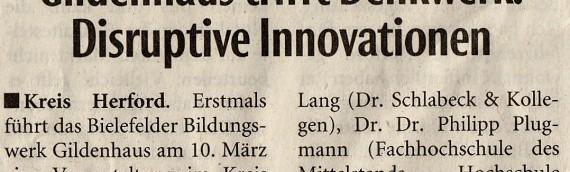 Innovationen und Geschäftsmodelle (10.03.2016)