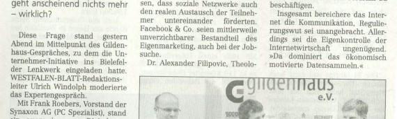 Gildenhaus Gespräch