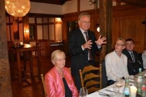 Ortwin Goldbeck informiert über die Unternehmensführung