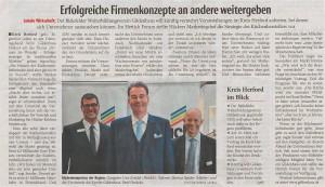 Neue Westfälische, Regionalausgabe Bünde, 27.10.2016